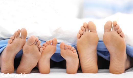 جلوگیری از ترک کف پا