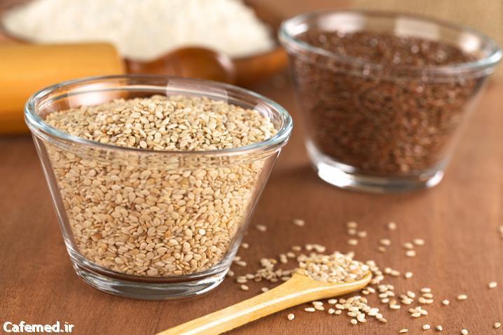 ۴ دانه و بذر مفید برای کاهش وزن