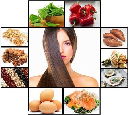 داشتن موهای زیبا با یک رژیم غذایی سالم