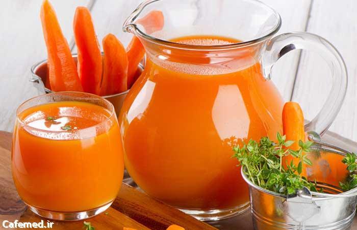 آیا آب هویج روی بینایی کودکان تاثیر دارد