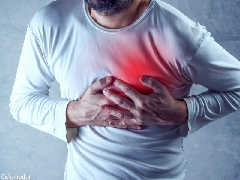 علل درد قفسه سینه