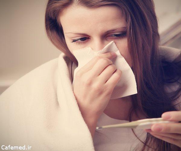 درمان سرماخوردگی با مصرف زینک