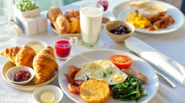 صبحانه دیابتی ها