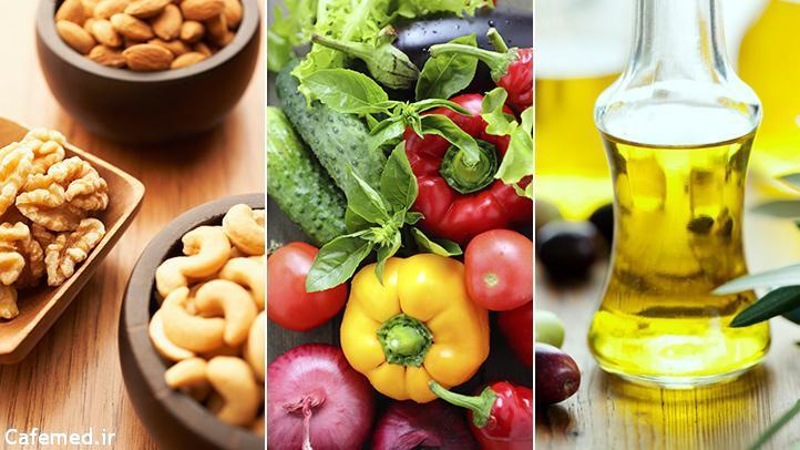 خوراکی هایی برای تنظیم کلسترول