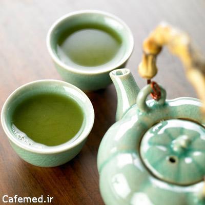 چای سبز برای محافظت از پوست در برابر نور خورشید