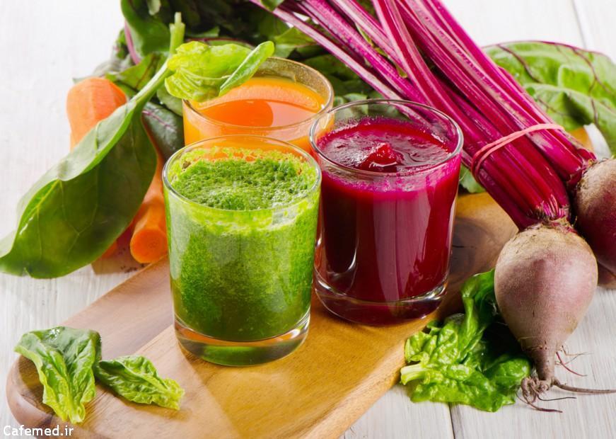 پاکسازی بدن با مواد غذایی طبیعی