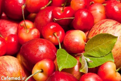 ارزش غذایی میوه های مختلف